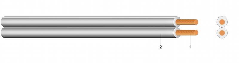 (N)YFAZ - PVC plosnati kabel