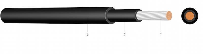 Solarni kabel - Oplašteni kabel za foto-naponske sustave