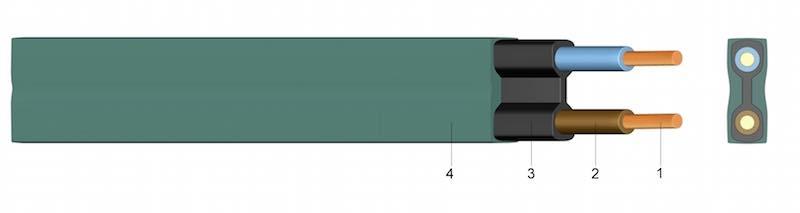 H05RNH2-F - Plosnati kabel za rasvjetu