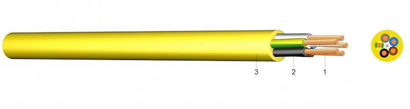 N07V3V3-F - PVC kabel za gradilišta
