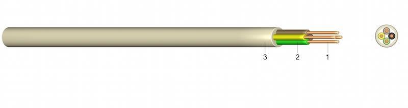 YYSch - PVC-om izolirani telekomunikacijski kabel