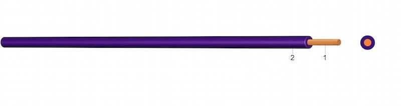 H05V-K ( Ysf ) - PVC-om izolirani jednožilni vodič
