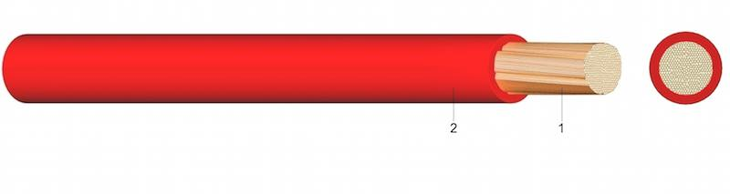 H07V-K ( Yf ) - PVC-om izolirani jednožilni vodič